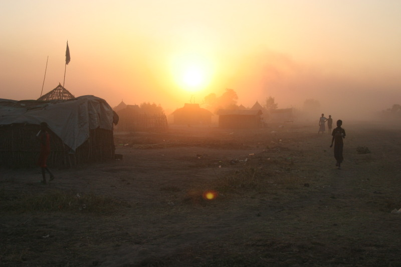 South Sudan sunrise